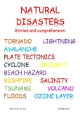 Natural Disasters:short stories and comprehension