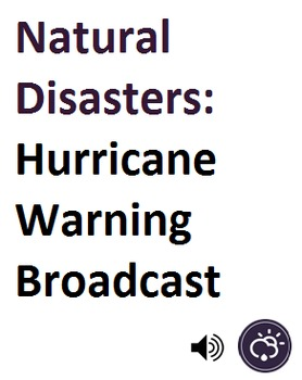 Natural Disasters_Hurricane Warning Broadcast