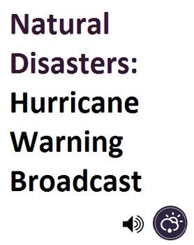 Natural Disasters_Hurricane Warning Broadcast