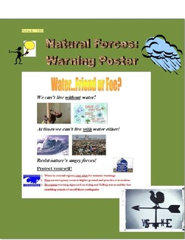Natural Forces of Nature - Warning Poster
