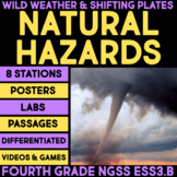 Natural Hazards - Wild Weather & Shifting Plates - 4th Gra