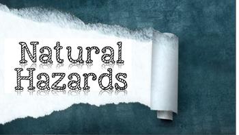 Natural Hazards for Social Studies or Science