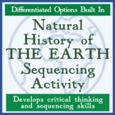 Natural History of the Earth - Earth Day or Earth Science Sequencing Activity