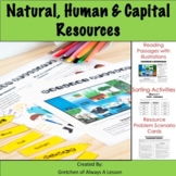 Natural, Human & Capital Resources Learning & Activity Pack