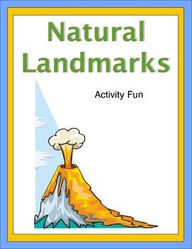 Natural Landmarks Activity Fun