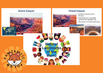 Natural Landmarks of the World Geography
