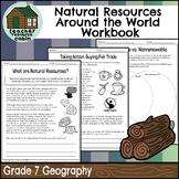 Natural Resources Around the World Workbook (Grade 7 Ontario Geography)