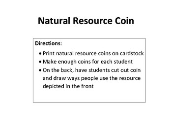 Natural Resource Coin