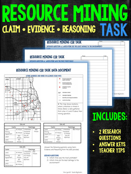 Natural Resource Mining Claims Evidence Reasoning Task