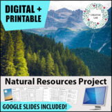 Natural Resource Research Project - PBL