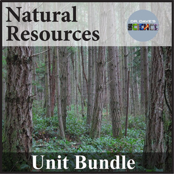 Natural Resources Unit Bundle NGSS 4-ESS3-1