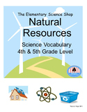 Natural Resources (The Elementary Science Shop) - Grades 4-5