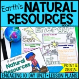 Natural Resources: Renewable/ Nonrenewable and Living/ Nonliving Resources