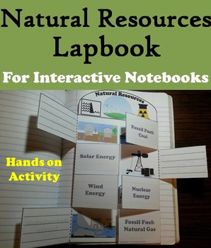 Natural Resources Activity: Renewable and Nonrenewable, Fossil Fuels, Solar, etc