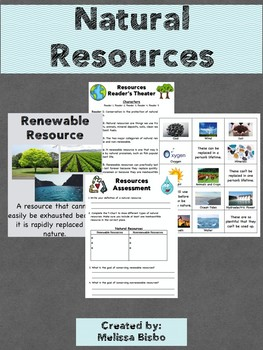 Natural Resources Activites