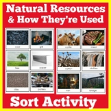 Natural Resources Sort Activity