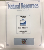 Natural Resources Adapted Binder