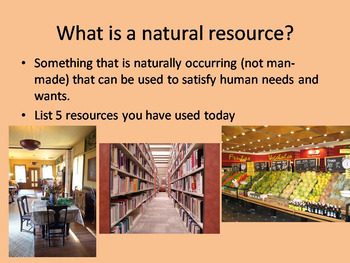 Natural Resources Bundle