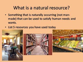 Natural Resources Bundle