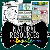 Natural Resources Activity Bundle - Renewable and Nonrenewable Energy