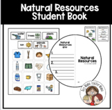 Natural Resources Circle Book and Sort with Natural Resour