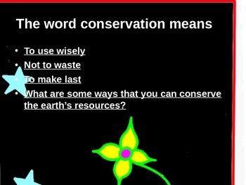Natural Resources, Conservation and Pollution