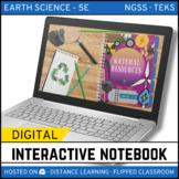 Natural Resources DIGITAL NOTEBOOK - Google Classroom Dist
