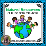 Natural Resources: Fill in the Blank Non-Fiction Book
