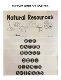 Natural Resources Flip Book