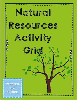 Natural Resources Grid and Activities