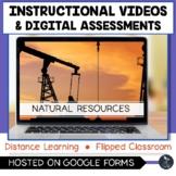 Natural Resources Instructional Videos & Digital Assessmen