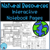 Natural Resources Interactive Notebook