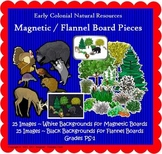 Natural Resources Magnetic & Flannel Board Printable