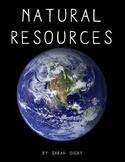 """Natural Resources"" – Original Book (1st-Grade Level)"