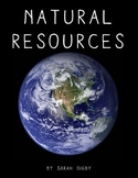 """Natural Resources"" – Original Book (1st-Grade Level)"
