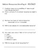 Natural Resources Packet
