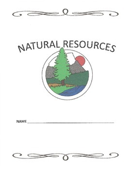 Natural Resources Packet/Unit Work