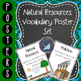 Natural Resources: Vocabulary Poster Set