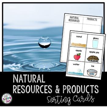 Economics: Natural Resources Sorting Cards