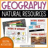 Natural Resources Digital Activities