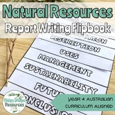 Australian Curriculum Year 4 Science Report Writing Flipbo