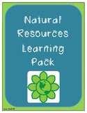 Natural Resources Social Studies Pack