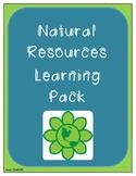 Natural Resources Social Studies Pack