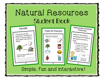 Natural Resources Student Book