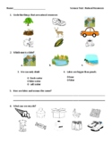 Natural Resources Test