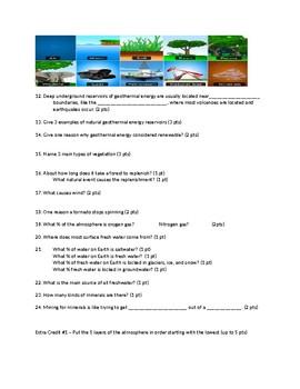 Natural Resources Exam