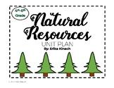 Natural Resources Unit Plan - Science, Social Studies and Language Arts