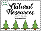 Natural Resources Unit Plan - Science, Social Studies and