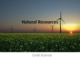 Natural Resources Unit Powerpoint (with lab activities!)