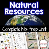 Natural Resources and How We Use Them | Google Classroom Distance Learning